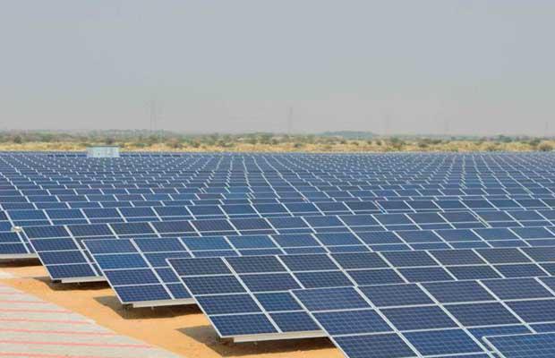 solar plant in Neyveli