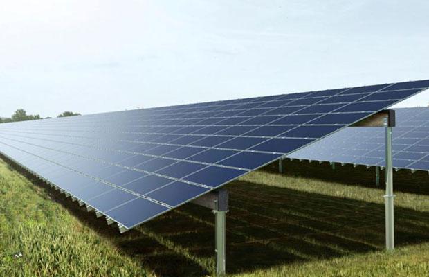 solar power park in India