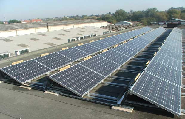 NDMC install solar panels