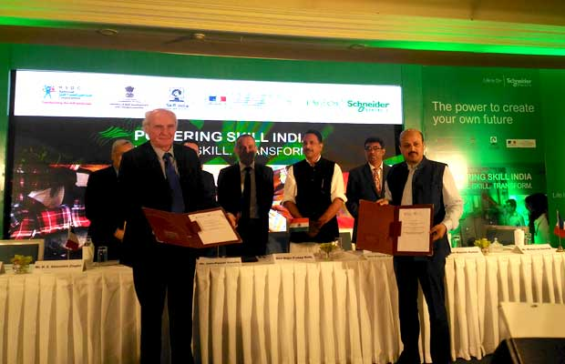 Schneider Electric partners with NSDC and PSSC