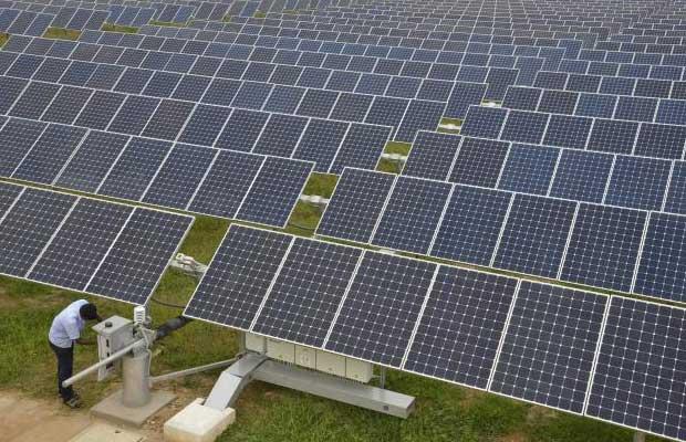 Indian solar energy