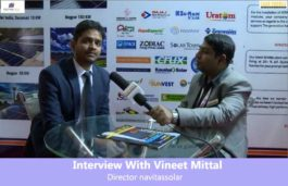 Interview With Vineet Mittal, Director navitassolar