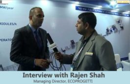 Interview with Rajen Shah Managing Director, ECOPROGETTI