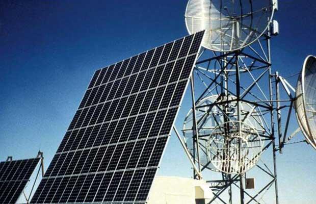 Solar powered Telecom Towers