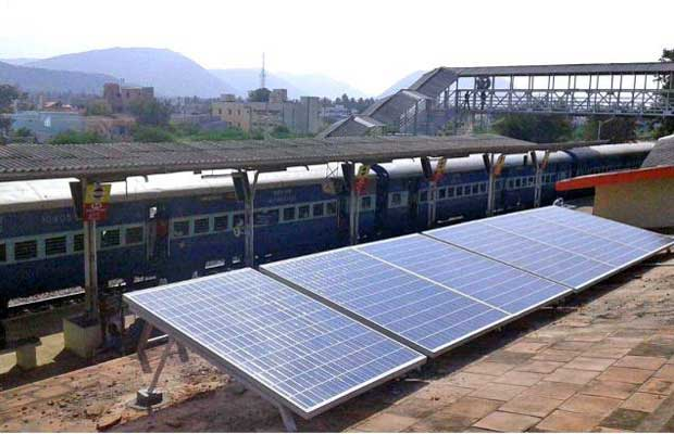 Railways 165 kW Rooftop Solar