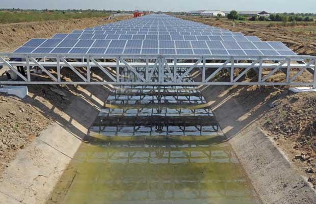 Jharkhand Canal-Top Solar