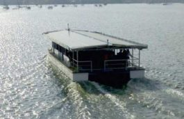 Solar powered ferry boat Aditya clears trial on Vembanad lake