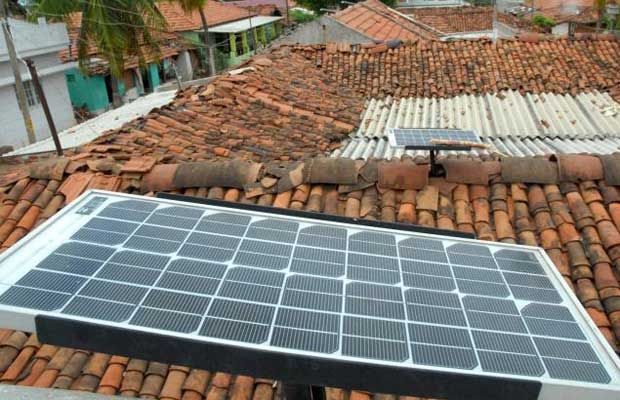 solar rooftops panels