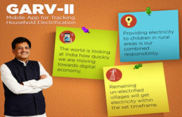 GARV-II Mobile App to track Rural Household Electrification and Citizen Engagement Window 'SAMVAD' Launched