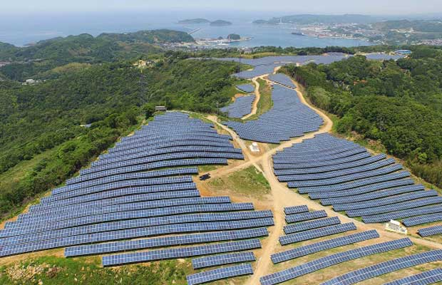 Solar Power Project in Japan