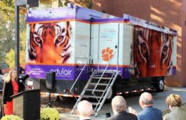 Odulair launches 100% Solar Powered Mobile Health Clinic for Clemson University
