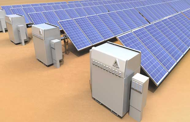 Solar Tracker Plus Storage Solution