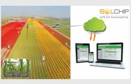 Sol Chip Introduces Autonomous Wireless Solar Tag for enabling precision agriculture and smart irrigation