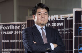 Viz-a-Viz with William Sheng- SVP Global Marketing & Zhongli Talesun Solar