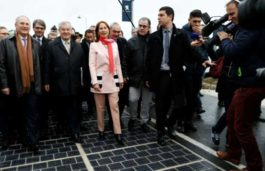 France inaugurates world's first solar highway