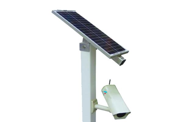 solar power CCTV camera