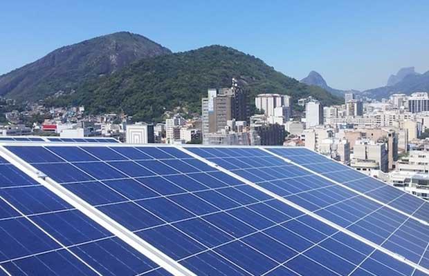 solar project in Brazil