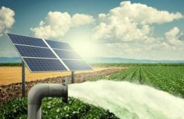 Electricity to farmers through renewable energy sources