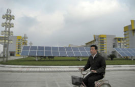 China takes Global Lead in Renewable Energy Investments