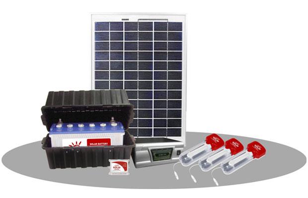 Solar Power Lighting Systems