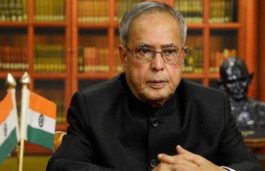 President Pranab Mukherjee inaugurates first phase of a Solarization Project in President's Estate
