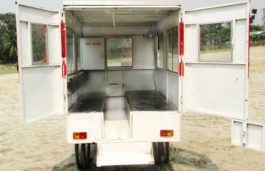 Solar Powered Ambulance Launched In Bangladesh