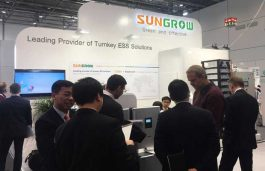 Sungrow Showcases New Energy Storage System Solutions at Energy Storage Europe in Germany