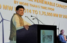 India's 60-65 per cent of installed power generation capacity will be from Renewable Energy: Piyush Goyal