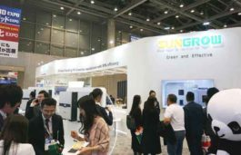 Sungrow Introduces New String Inverter SG33K3J at the 7th Int'l Smart Grid Expo in Tokyo