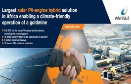 Engine manufacturer Wärtsilä to supply a solar PV plant to Burkina Faso