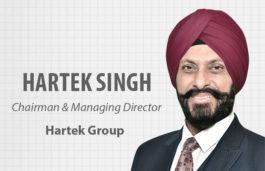 VIZ-A-VIZ with HARTEK SINGH, Chairman & Managing Director | Hartek Group