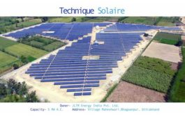Technique Solaire Commissions 5.5MW Solar Power Plant in Uttarakhand