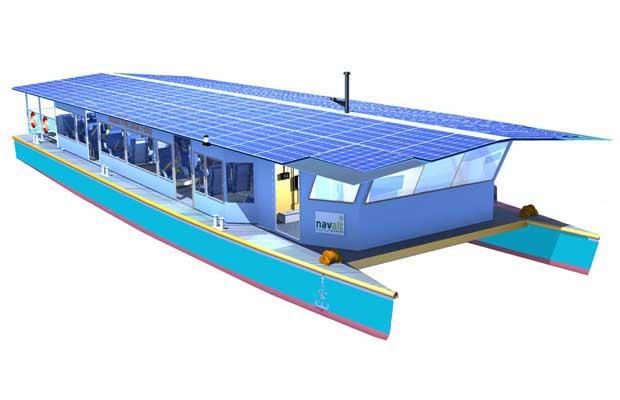 Solar boat maker