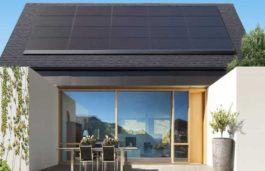 Tesla introduces sleek solar panel made by Panasonic for existing roof