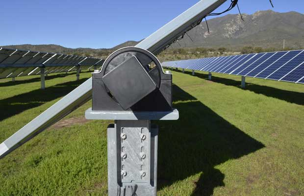 Nclave Supplies Its Single Axis Trackers For A Solar Power