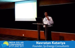 Navratan Katariya, Founder, Sy-Energy Consultants
