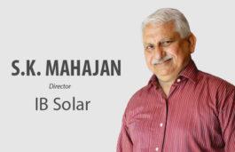 VIZ-A-VIZ with S.K Mahajan, Director, IB Solar