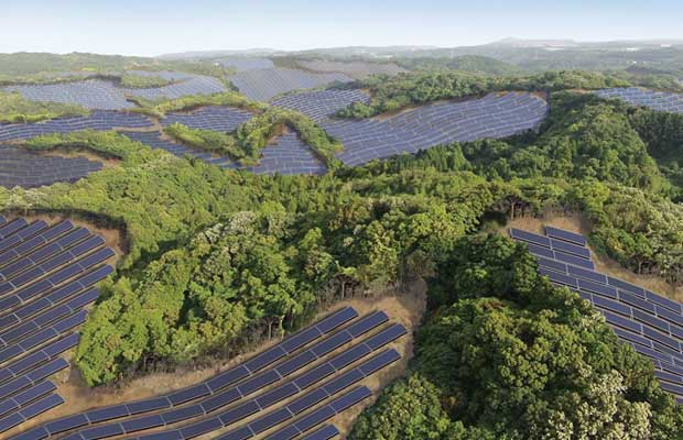 Solar PV Project in Japan