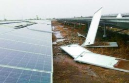 Gale causes huge damage to Kurnool Solar Park, Solar panels erected by Greenko & Softbank uprooted: Report