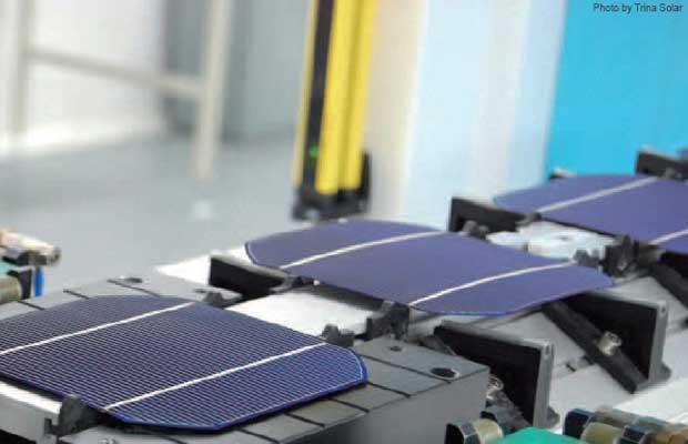 Trina Solar IBC Mono-crystalline Silicon Solar Cell