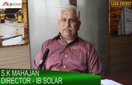 Exclusive Interview with S.K Mahajan, Director – IB SOLAR