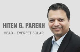 VIZ-A-VIZ with Hiten G. Parekh, Head, Everest Solar