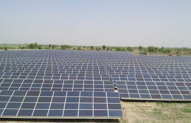 rooftop solar panels and solar park