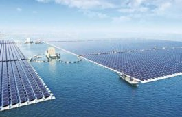 World's largest floating solar PV plant of 40MW with Sungrow's PV inverters connected to the grid in Huainan, China.