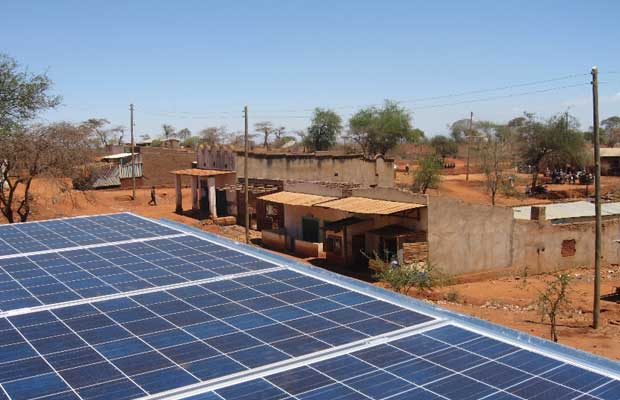 solar-diesel hybrid rural electrification power