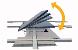 Edisun Microgrids Dual Axis PV Booster Tracker System