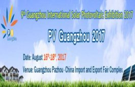 9th Guangzhou International Solar PV exhibition starting from 16th August 2017