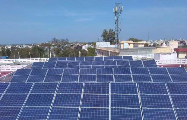 Gurjar Sudhaar Sabha Dharamshala solar panels
