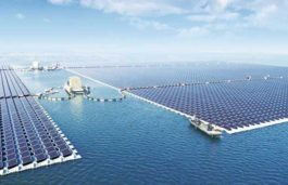JA Solar supplies modules for the world's largest floating solar power plant in China
