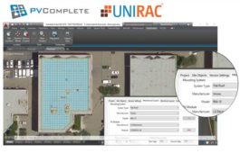 Unirac, PVComplete partners to integrate PV design software